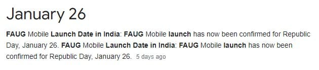 faug realease date launch date