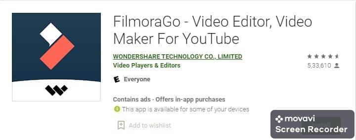 FilmoraGo Video Bananewala app