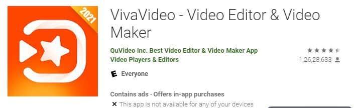 viva video video editing apps